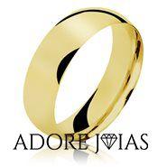 Aliança de Casamento em Ouro 18k Milão