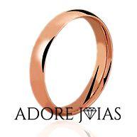 Aliança de Casamento em Ouro 18k Nayara