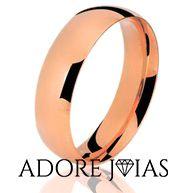 Aliança de Casamento em Ouro 18k Nina