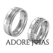Aliança de Casamento em Ouro 18k Paris