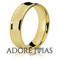 Aliança de Casamento em Ouro 18k Penélope
