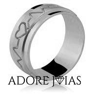 Aliança de Casamento em Ouro 18k Pérola