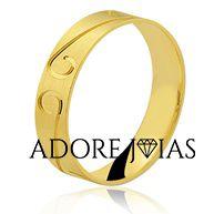 Aliança de Casamento em Ouro 18k Rayane