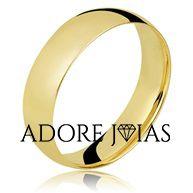 Aliança de Casamento em Ouro 18k Renata