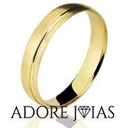 Aliança de Casamento em Ouro 18k Simbel