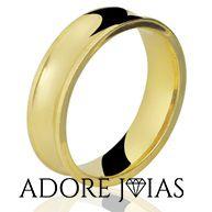 Aliança de Casamento em Ouro 18k Suellen