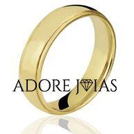 Aliança de Casamento em Ouro 18k Thalia