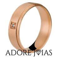 Aliança de Casamento em Ouro 18k Vanessa
