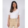 T-Shirt Gola V Estonada Branca
