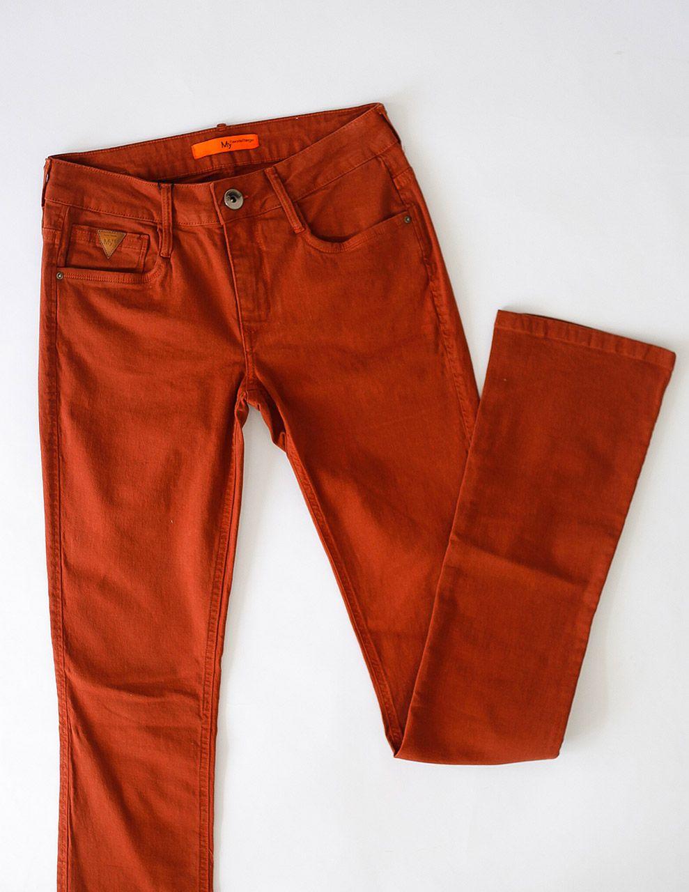 Calça Jeans Boot Cut Low