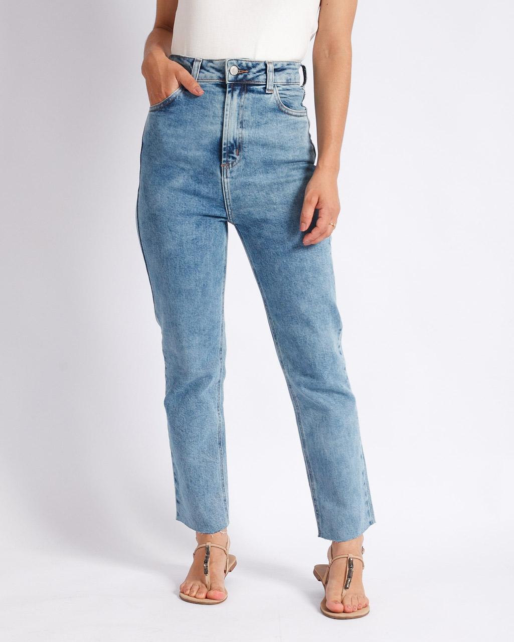 Calça Jeans Mom Confort