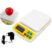 Balança Digital De Cozinha Alta Precisão 10kg GlobalMix SF-400A A Pilha E Elétrica