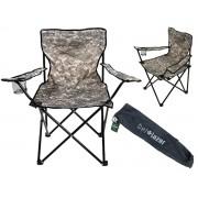 Cadeira Araguaia Camuflada Belfix 16900 Comfort Dobrável