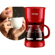 Cafeteira Elétrica Lenoxx PCA-019 600w 18 Xícaras Vermelha
