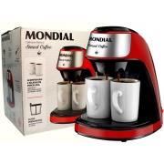 Cafeteira Elétrica Mondial C-42-2X-RI Smart Coffee 500w Com Duas Xícaras