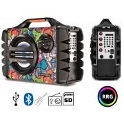 Caixa De Som Portátil Bluetooth Mondial MCO-06 120 rms Bivolt