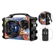Caixa De Som Portátil Mondial Thunder  XII Mco-12 Bluetooth Flash Light