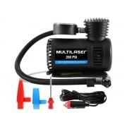 Compressor De Ar 250PSI Portátil Multilaser Au601 Auto Care Com Acessórios