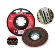 Disco Abrasivo De Lixa Flap Grão 60 115mm x 22mm Mtx 740289
