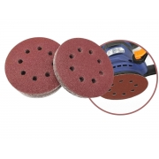 Disco De Lixa Com Velcro Perfurado 125 mm Grão 150 MTX 738079