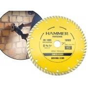 Disco Diamantado 7 Polegadas Hammer DD-1600 Corte a Seco P/ Esmerilhadeira