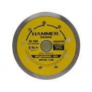 "Disco Diamantado Liso Hammer DD-1000 110X20mm 4"""
