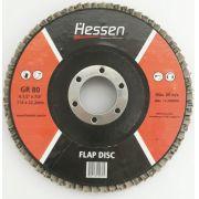 "Disco Flap Hessen  GR80 4.1/2"" 115x22,2mm"