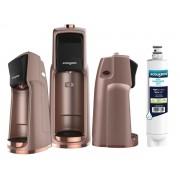 Filtro Purificador De Água Easy Acquabios Edição Especial Rose Gold + 1 Refil Extra