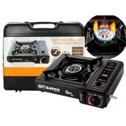 Fogareiro A Gás Portátil Em Aço Globalmix GT-100