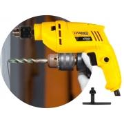 Furadeira De Impacto 570w 10mm Hammer FI-2000 2800rpm