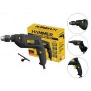 "Furadeira De Impacto Hammer Fi-1000 550w 3/8"" Pol. 10mm"