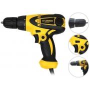 Parafusadeira Furadeira Elétrica 300w Hammer Pfe-300 10mm Com Fio