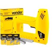 Grampeador Pinador Elétrico Tapeceiro Vonder GPE-168