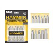 Jogo de Bits Ponteiras P/ Parafusadeira Hammer Jb-5000
