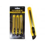 Jogo De Estiletes Hammer ES-3000 9mm 3 Peças