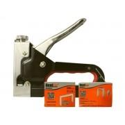 Kit Grampeador Manual Profissional Bestfer BFH0133 C/ Acessórios