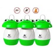 Kit Luminária Armadilha De Mosquito Sapo NSBAO Bivolt 3 Peças Voltagem: Bivolt