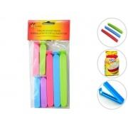 Kit Prendedores Para Embalagens Monaliza MZ-98001 7 peças