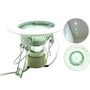 Lâmpada de Embutir Bronze Arte Llum KHD-0219-BC2 50w Branco