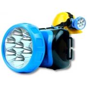 Lanterna De Cabeça Ajustável 7 Leds Nsbao Yg-3584 Recarregável