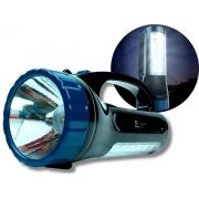 Lanterna De Led Com Função Luminária E Alça Nsbao Yg-5715 Recarregável