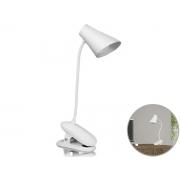 Luminária Led De Mesa Flexível Com Clip De Fixação Made Basics LM-7