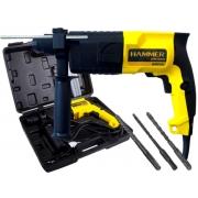 Martelete Rotativo 650w Hammer Mr-650 Com Maleta e Brocas SDS Plus