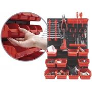 Painel Organizador Porta Ferramentas Worker 940780 26 Peças