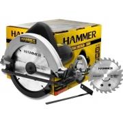 Serra Circular 1100w Hammer Gysc-1100 185mm Ângulo Regulável