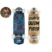 Skate Mormaii Swingboard 7 Lâminas Abec-5