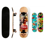 Skate Radical Semi Profissional Montado Abec-5 Bel Coca Cola