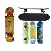 Skate Radical Semi Profissional Montado Bel Kronik 402104 Scooby Doo