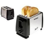 Torradeira Tostador De Pães Mondial Nt-01 Toast Duo Preto Inox