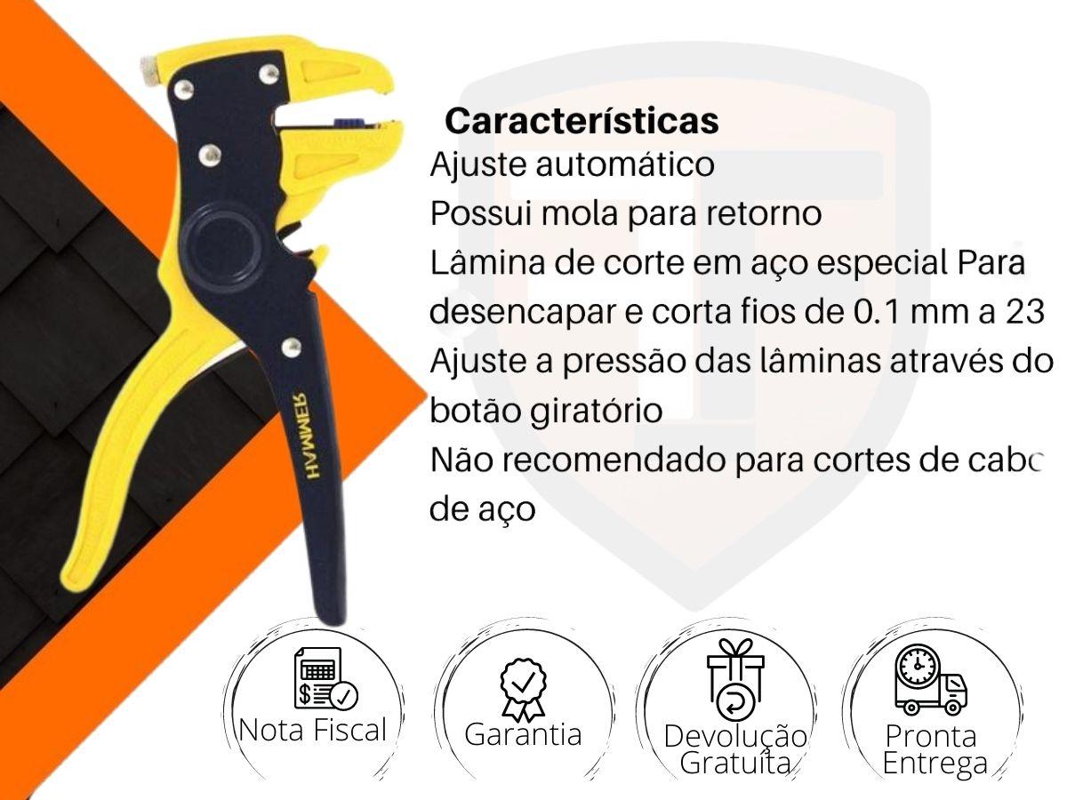 Alicate Desencapador De Fios Hammer Al-5000